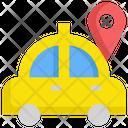 Taxi Gps Location Icon