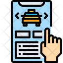 Taxi Taxi Booking Cab Booking Icon