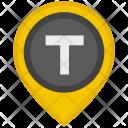 Taxi Location T Icon