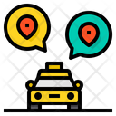 Taxi Location Icon