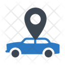 Taxi Location Cab Icon