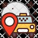 Taxi Taxi Location Cab Location Icon