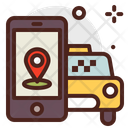 Order Taxi Booking Cab Booking Icon