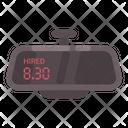 Taxi Mirror Meter Icon