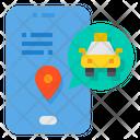 Mobile App Location Smartphone Icon