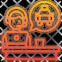 Operator Taxi Call Center Icon