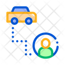 Taxi Passenger Icon