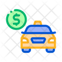 Payment Online Taxi Icon