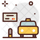 Card Card Cab Payment Taxi Payment Icon
