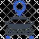 Taxi Pointer Location Icon