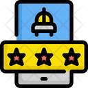Taxi Rating Icon