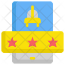 Rating Taxi Service Icon