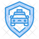 Taxi Security Icon