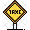 Taxi Taxi Stand Cab Stand Icon