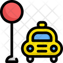 Taxi Service Delivery Icon