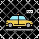 Taxi Stop Taxi Stop Icon
