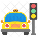Taxi Stand Stop Icon
