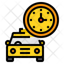 Taxi Timing Icon