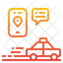 Taxi Placeholder Location Icon