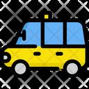 Taxi Van Service Icon