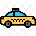 Taxi Vehicle Machine Icon
