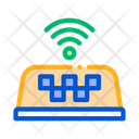 Taxi Presence Wi Fi Icon