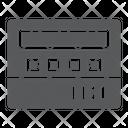 Taximeter Taxi Service Icon