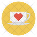 Tea Valentine Cup Icon