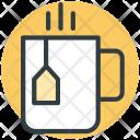 Tea Teacup Teabag Icon