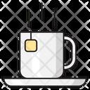 Tea Hot Teabag Icon