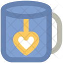 Tea Mug Heart Icon