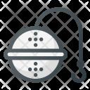 Tea Sieve Filter Icon