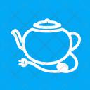 Tea Kettle Electric Icon