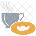 Tea Cookie Cup Icon