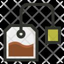 Tea Bag Packet Icon