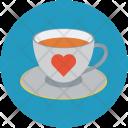 Tea Coffee Date Icon
