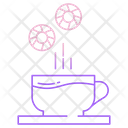 Tea And Biscuits Icon