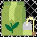 Tea Bag Herbs Infusion Icon
