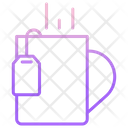 Tea Bag And Mug Icon