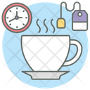 Coffee Break Tea Break Break Time Icon