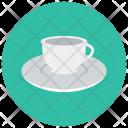 Tea Cup Saucer Icon