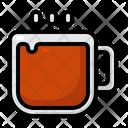 Tea Winter Christmas Icon
