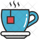 Teacup Saucer Coffee Icon