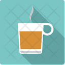 Tea Hot Glass Icon