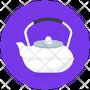 Tea Kettle Arabic Teapot Dallah Icon