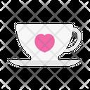 Tea Love Coffee Icon