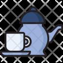 Tea Cup Tea Pot Icon