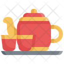 Tea Pot Chinese New Year Icon