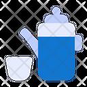 Tea Pot Ramadan Lantern Icon