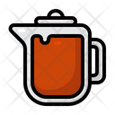 Tea Pot Winter Christmas Icon